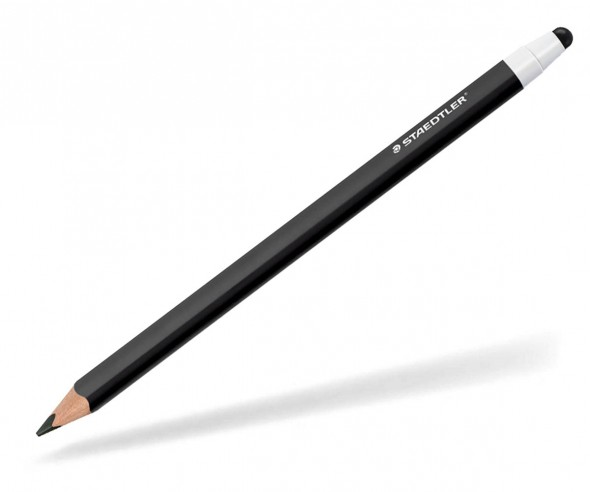 STAEDTLER Jumbo Bleistift 11920W mit stylus Touchpen schwarz