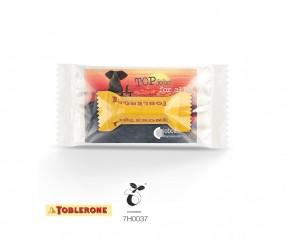 Toblerone milk tiny im Werbeträger mit Druck