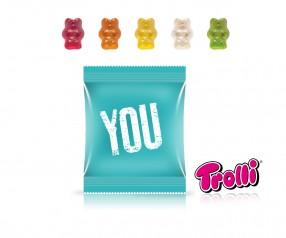 Trolli Fruchtgummi Minitüte Premiumbärchen Werbeartikel