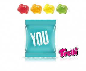 Trolli Fruchtgummi Minitüte Smiley Emoticon Strichgesicht