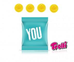 Trolli Fruchtgummi Minitüte Smiley Emoticon Strichgesicht