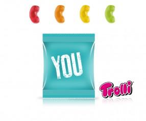 Trolli Fruchtgummi Minitüte Telefonhörer Giveaway
