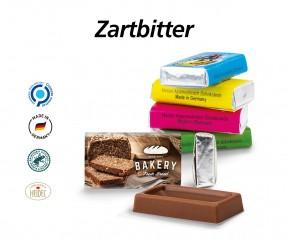 Napolitain Zartbitter Schokolade als Werbeartikel mit Druck