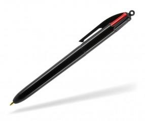 BIC® 4 Colours 1100 4 Minen Werbekugelschreiber mit Druck schwarz