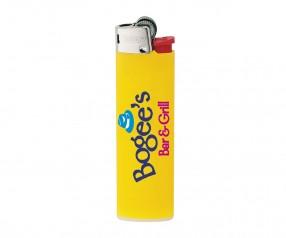 BIC Feuerzeug Werbemittel J23 Lighter mit Reibrad gelb