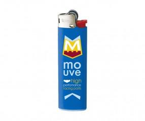 BIC Feuerzeug mit Druck J23 Lighter mit Reibrad blau