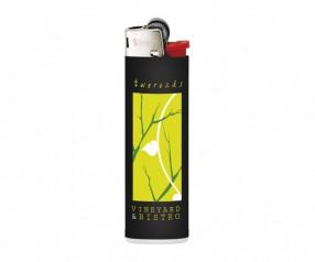 BIC Feuerzeug mit Logo bedrucken J23 Lighter mit Reibrad schwarz