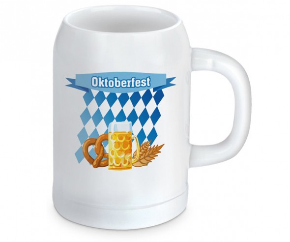 Bierkrug Werbeartikel 500ml inkl. Logodruck
