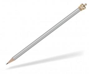 Reidinger Bleistift Werbeartikel mit Krone silber Gold Herzog