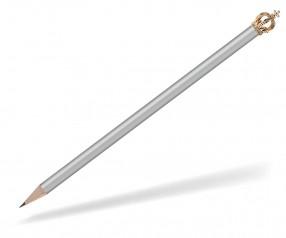 Reidinger Bleistift Werbeartikel mit Krone silber Gold Kaiser
