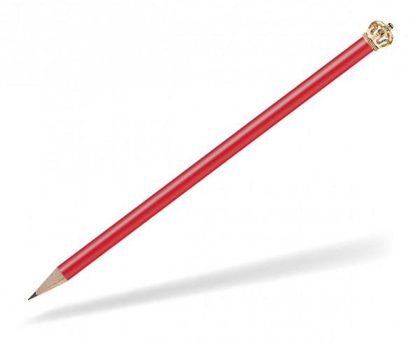 Reidinger Bleistift mit Krone rot Gold Königin