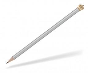 Reidinger Bleistift Werbeartikel mit Krone silber Gold Königin