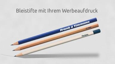 Bleistifte mit Werbeaufdruck oder Prägung Ihres Firmenlogos