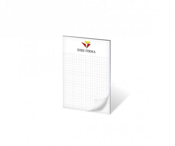 Schreibblock Werbeartikel DIN A6 50 Blatt