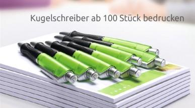 Kugelschreiber kleine Mengen ab 100 Stück bedrucken lassen bei Dein-Pen