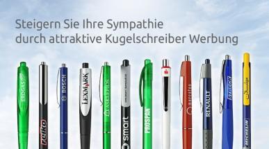 Kugelschreiber Werbung - Mit Qualität steigern Sie Ihre Sympathie