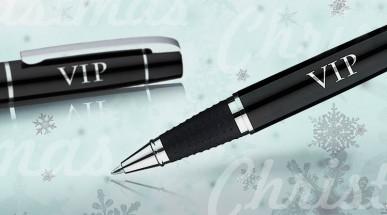 Tintenroller - ein Werbegeschenk mit Mehrwert zu Weihnachten