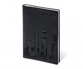 Brunnen 3D Flexi Notes A5 Notizbuch mit formgeprägtem Einband schwarz