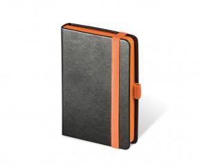 Brunnen Notizbuch Kompagnon Trend DIN A6 orange