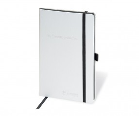 Brunnen Notizbuch Kompagnon WHITE DIN A5