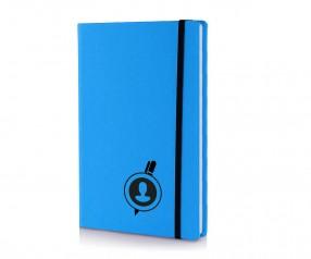Brunnen Notizbuch Kompagnon NEON DIN A5 blau
