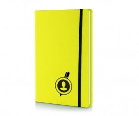 Brunnen Notizbuch Kompagnon NEON DIN A5 gelb