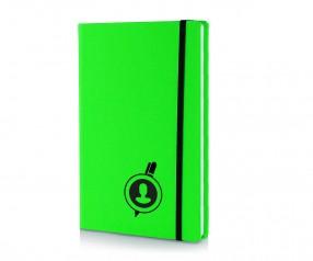 Brunnen Notizbuch Kompagnon NEON DIN A5 grün