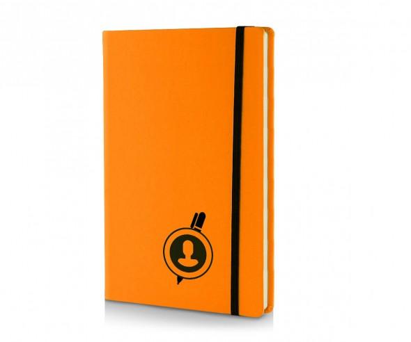 Brunnen Notizbuch Kompagnon NEON DIN A5 orange