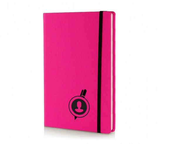 Brunnen Notizbuch Kompagnon NEON DIN A5 pink