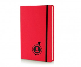 Brunnen Notizbuch Kompagnon NEON DIN A5 rot