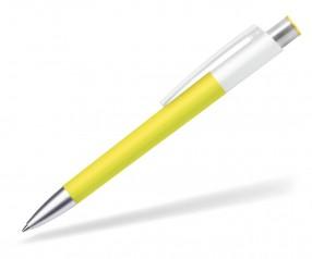 burger swiss pen Delta Basic 802 Kugelschreiber Werl gelb weiss