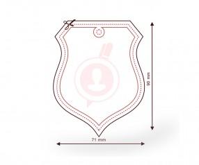 Duftbaum mit Logo als Werbeartikel FORM 403 Wappen