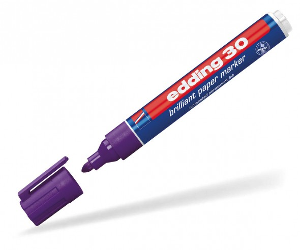 edding 30 bzw. 33 Pigmentmarker permanent violett