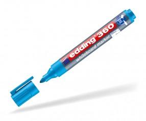 edding 360 363 Whiteboard Marker mit Druck hellblau
