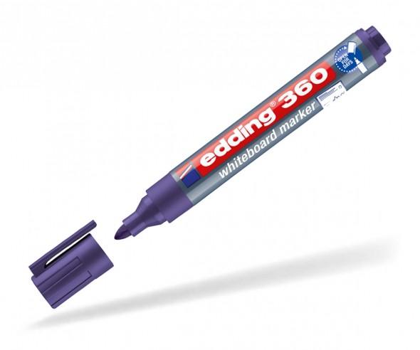 edding 360 363 Whiteboard Marker beschriften violett