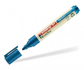 edding EcoLine 31 Nachhaltiger Flipchartmarker blau 003
