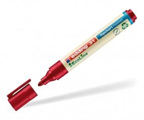 edding EcoLine 31 Nachhaltiger Flipchartmarker rot 002