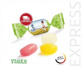 EXPRESS Bonbon Werbeartikel bedrucken Fruchtmix 1-Kilo-Tüte 3 Arbeitstage