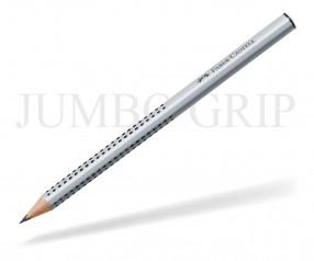 Faber-Castell JUMBO Grip XXL Bleistift Dreieckform 211900 silber