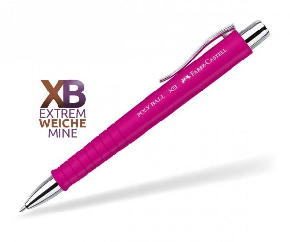 Faber-Castell Poly Ball XB Kugelschreiber Softtouch 24 11 28 pink