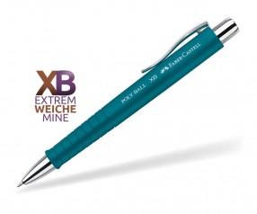 Faber-Castell Poly Ball XB Kugelschreiber Softtouch 24 11 55 petrol