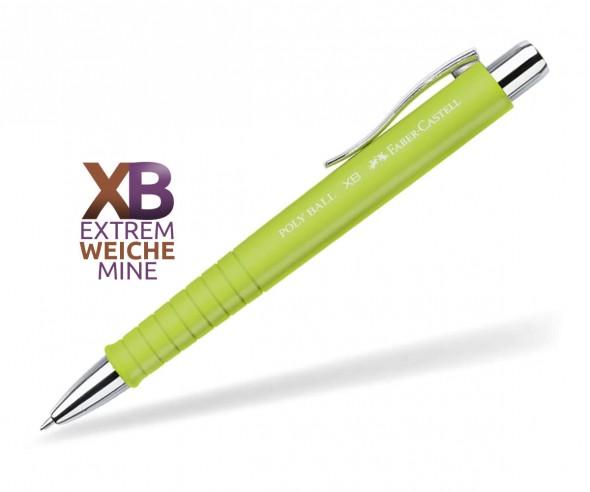 Faber-Castell Poly Ball XB Kugelschreiber Softtouch 24 11 64 limette