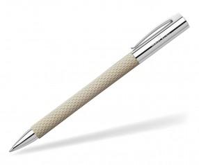 Faber-Castell Ambition OpArt White Sand Kugelschreiber 149616 inkl. Lasergravur