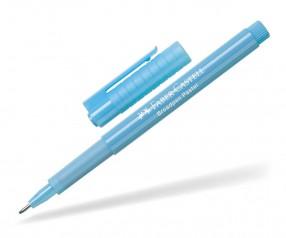 Faber-Castell Broadpen Fineliner inkl 1c Druck - hellblau