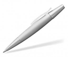Faber-Castell e-motion Kugelschreiber 148676 inkl. Lasergravur - pure silver