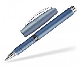 Faber-Castell Essentio Aluminium Tintenroller 148436 inkl. Lasergravur - blau
