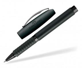 Faber-Castell Essentio Aluminium Tintenroller 148437 inkl. Lasergravur - schwarz