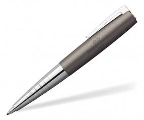 Faber-Castell Loom Kugelschreiber 149106 inkl Gravur - METALLIC grau