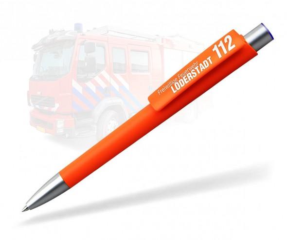 Feuerwehr Kugelschreiber Werbeartikel in Signalrot