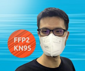 FFP2 Mund-Nasen-Maske Gesichtsmaske Atemmaske Mund- und Nasenbedeckung KN95